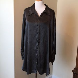 Tops - Size 2X Button Down Blouse